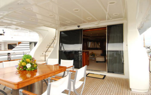 Motor yacht BONITO -  Aft Deck 2